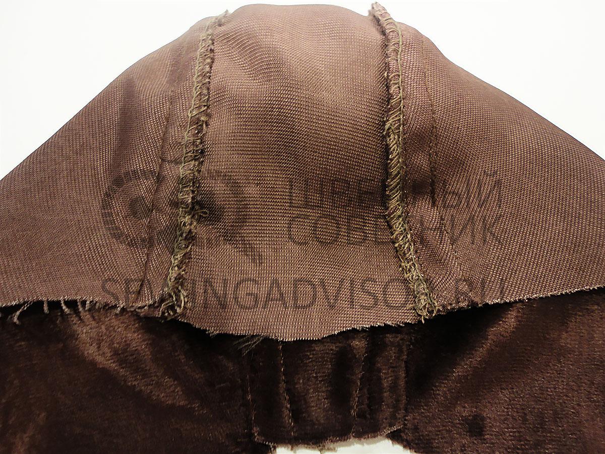 Соединяем три основные детали шапочки