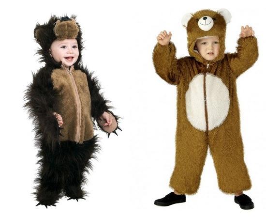 Как смастерить быстро костюм медведя