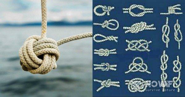 какие бывают морские узлы