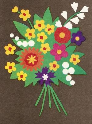 Создание букетов цветов из бумаги