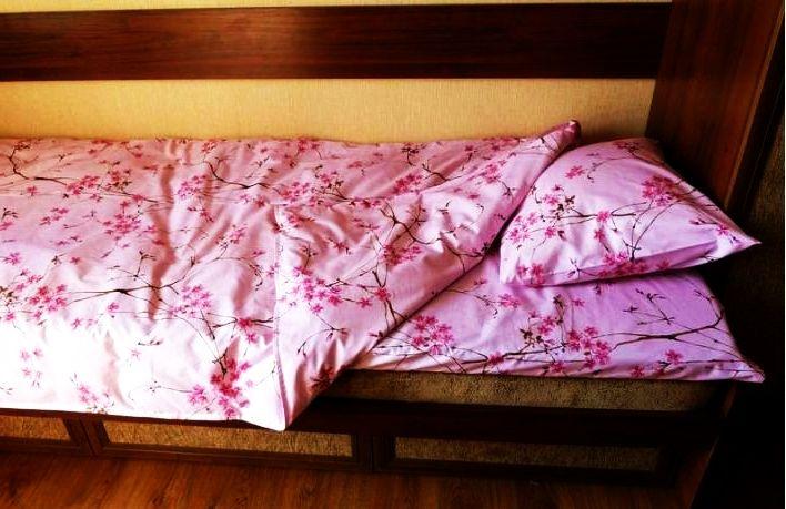 Рис. 34 - итоговый комплект самодельного постельного белья