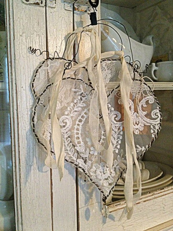 hanging-wire-lace-heart-by-rebeccavintageliving-on-etsy