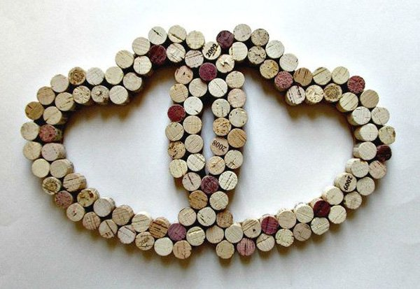 wine-cork-heart-wall-decor-two-intertwined-hearts-wedding-anniversary