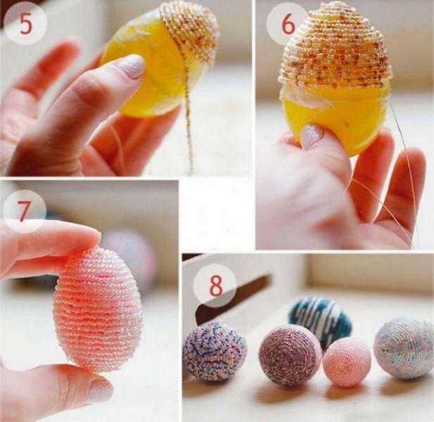 Пасхальное яйцо. Идеи поделок в форме яиц в разных техниках исполнения этап 18