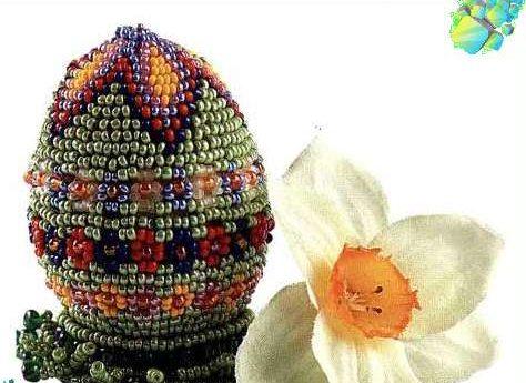 Пасхальное яйцо. Идеи поделок в форме яиц в разных техниках исполнения этап 26