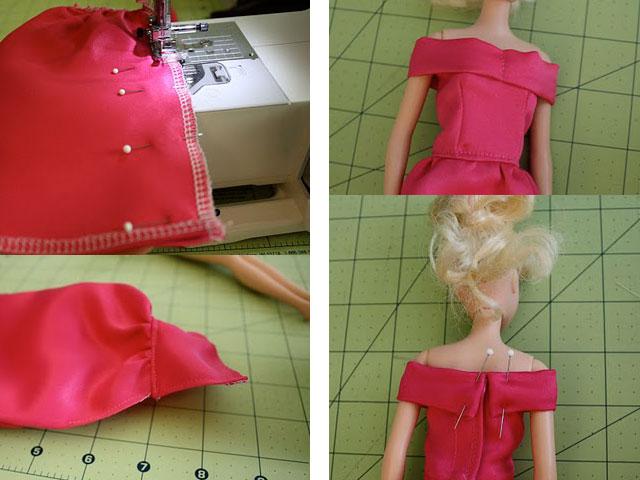 Декоративная лента для платья куклы