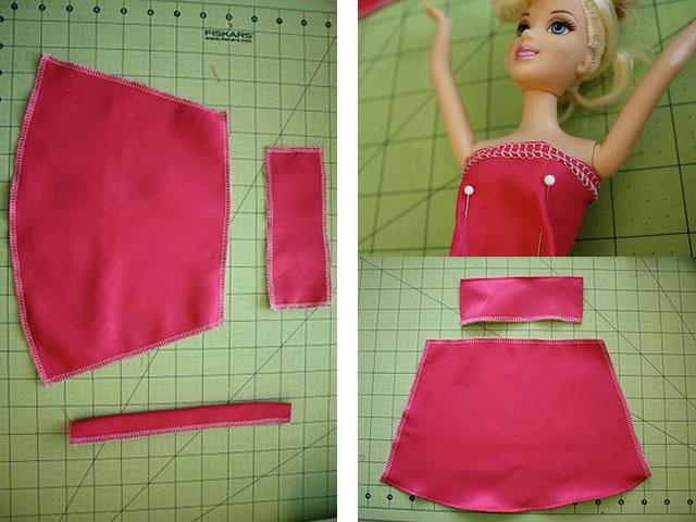 Подшивка платья