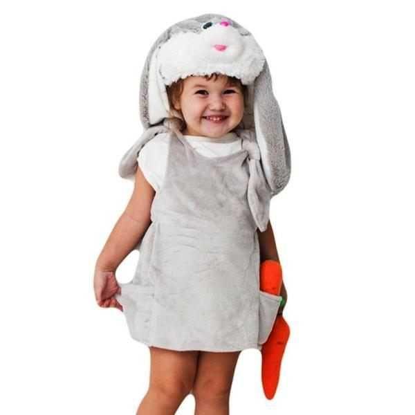 Костюм зайчика для девочки