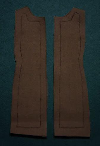 Детали из основной ткани