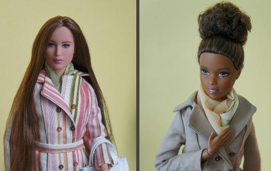 Пальто для Барби своими руками