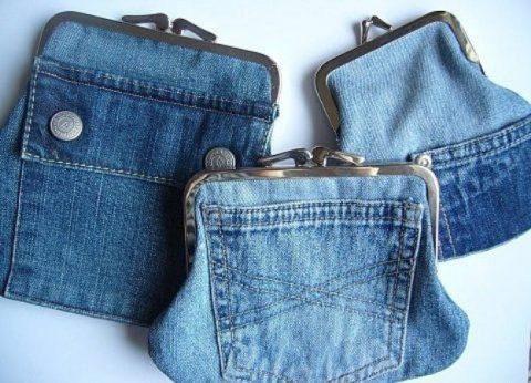Идеи для создания сумок из старых джинс