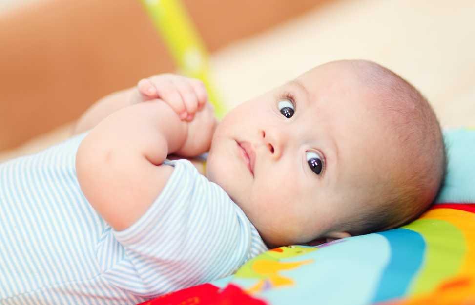 трехмесячный ребенок
