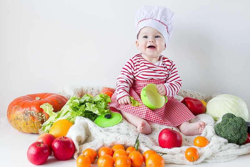 фрукты и овощи 7 месяцев