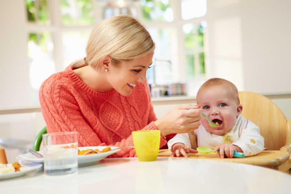 мама и ребенок 7 месяцев