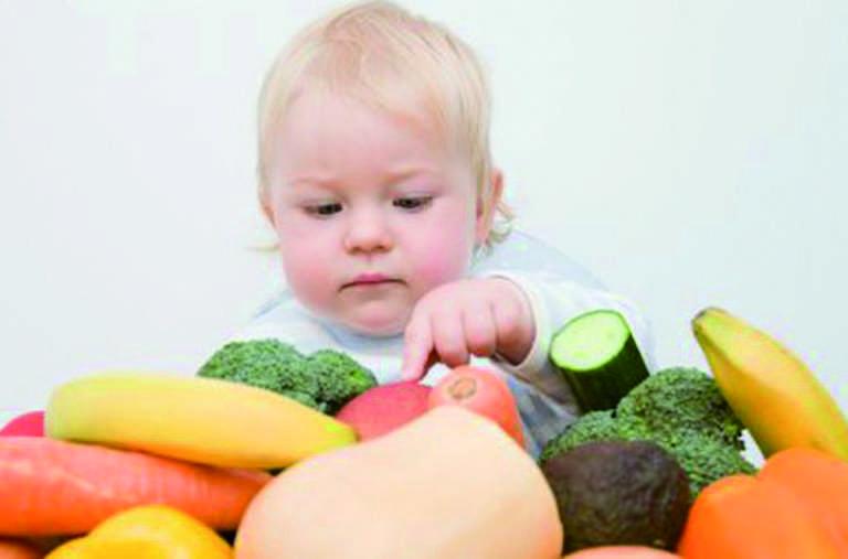 10 месяцев овощи