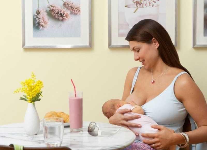 еда в грудном молоке