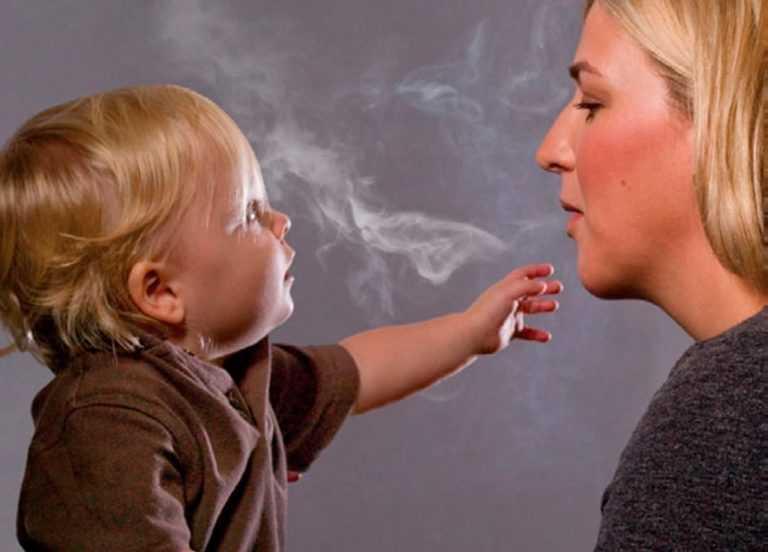 никотин и грудное вскармливание