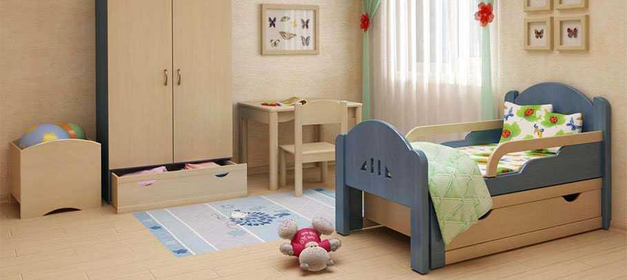 Разновидности детских кроватей