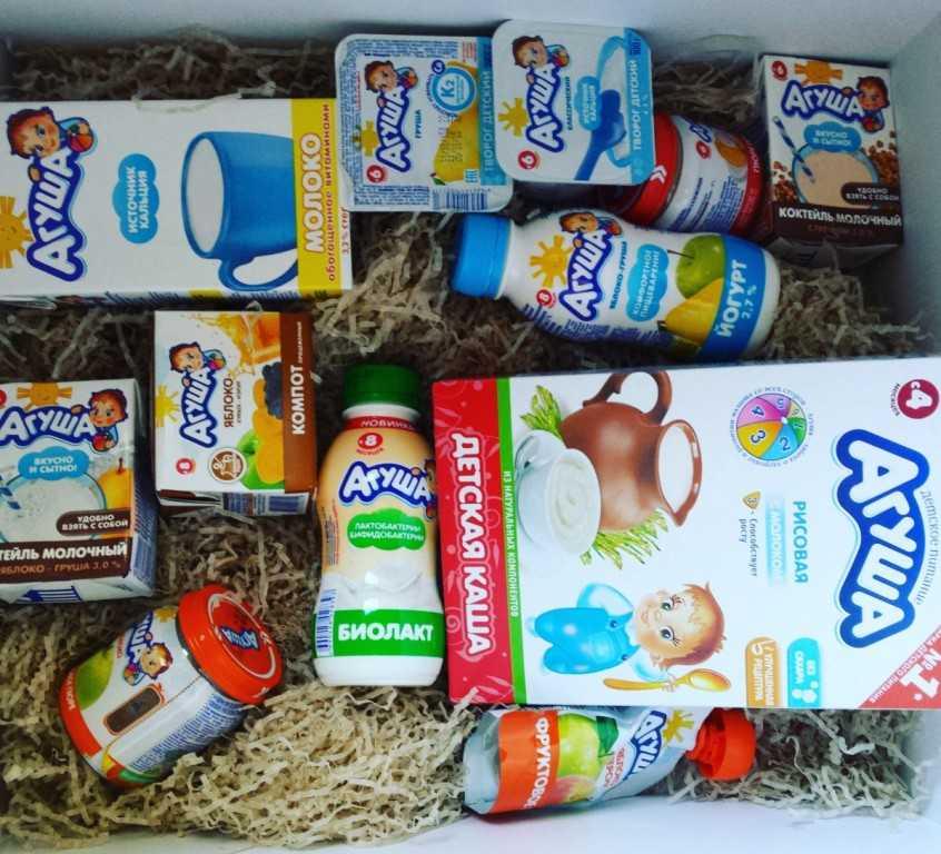 Преимущества детского питания Агуша