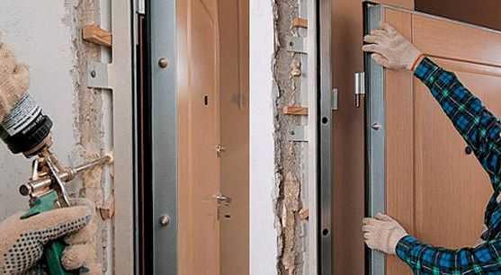 Распространенные ошибки при установке входных дверей