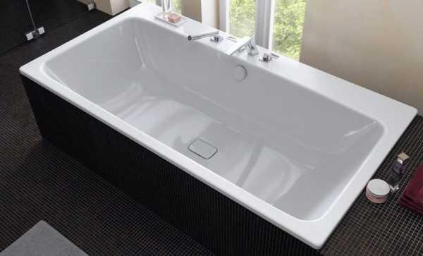Стальные ванны — надежная покупка без вреда бюджету.