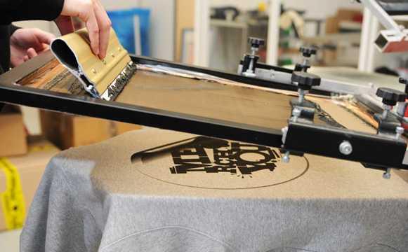 Способы печати изображения на ткани
