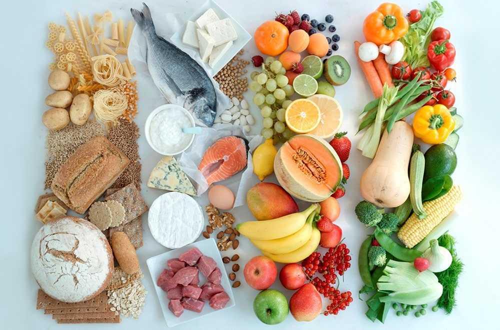 Какие продукты должны быть в меню обязательно?