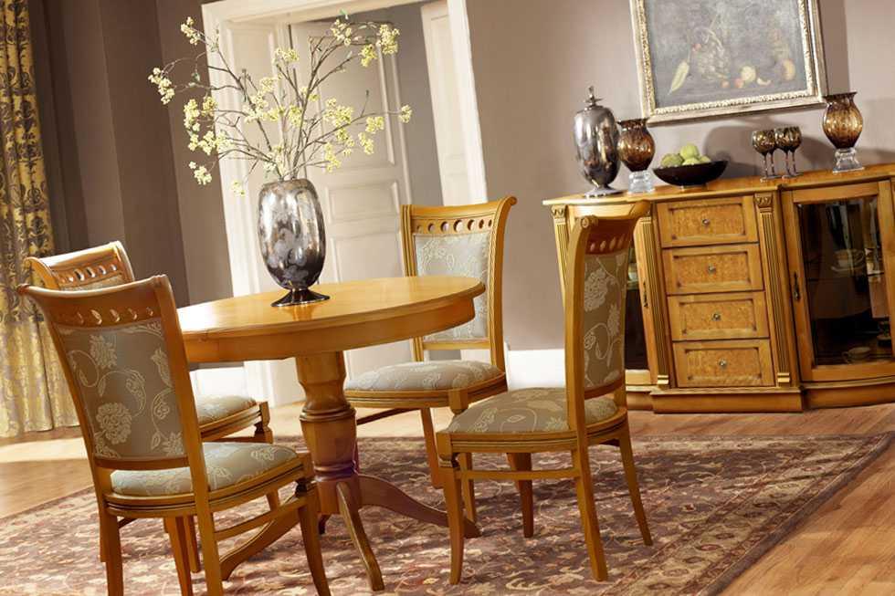 Преимущества мебели из березы