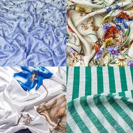 Как выбрать ткань для пошива блузки?