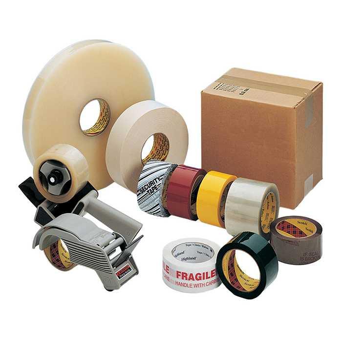 Упаковочные материалы (пленки, гофрокартон, клейкие ленты скотч)