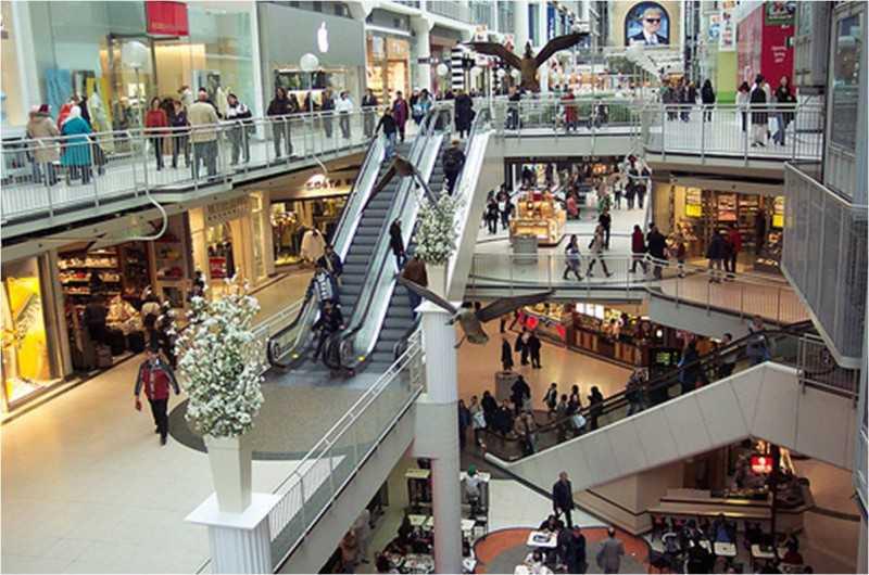 Преимущества покупок в торговом центре
